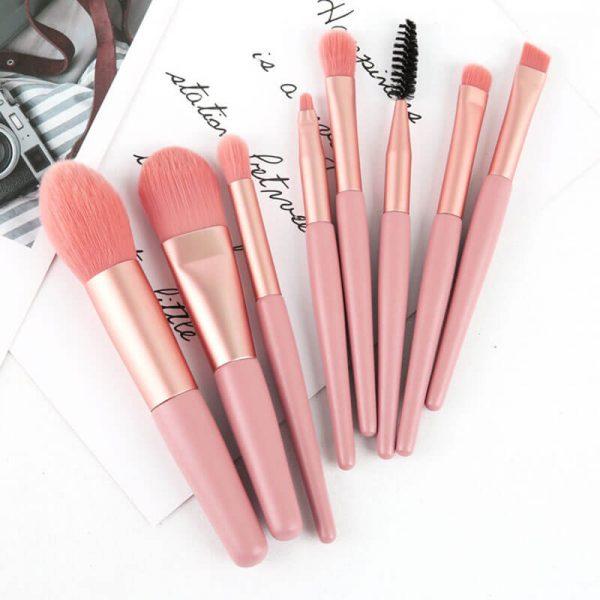 8pcs Makeup Brushes