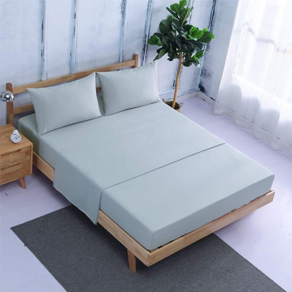 Bamboo Sheets King Queen Size Bed with Deep Pockets Bed Sheets