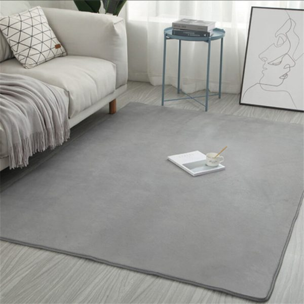 Coral Velvet Tatami Floor Mat Kids Bedroom Rug Yoga Mat