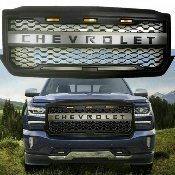 chevy silverado grill
