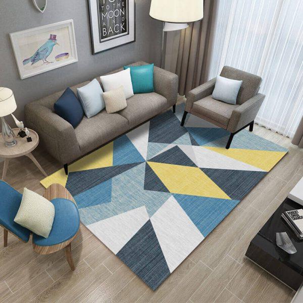 buy geometric rug