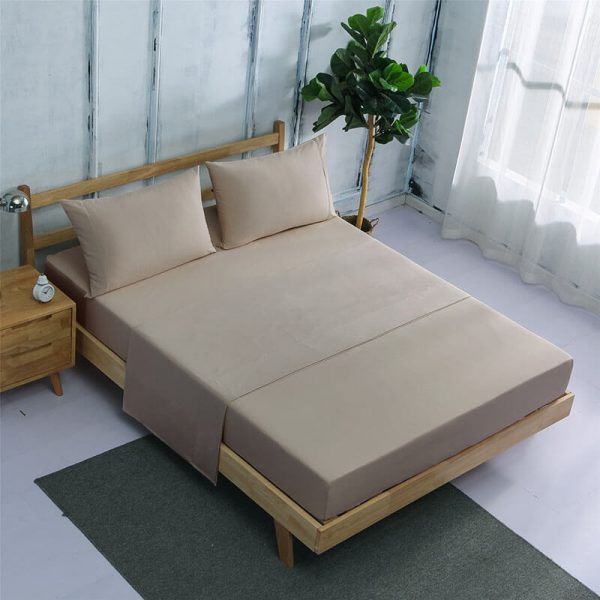 Luxury Organic Bamboo Sheet 4 Ps King Size Bed Sheets