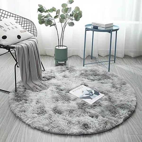 Soft Fluffy Carpet Round Rugs for Living Room